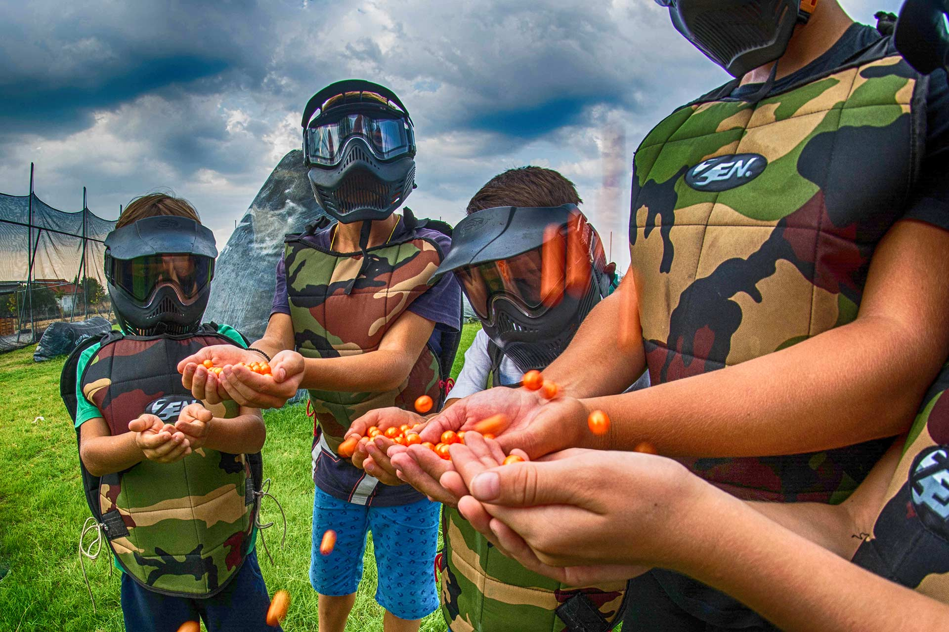Home Page Kids paintball